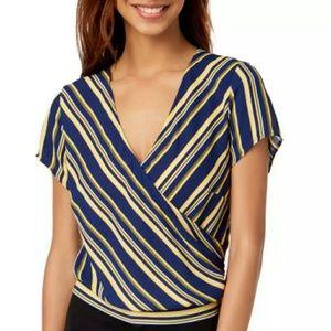 Ultra Flirt Tops - { Ultra Flirt } NWT striped top.